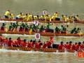山西:划龙舟 吃粽子 体验北方水城风情