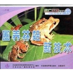 林蛙生态养殖技术全套4片光盘和1本书(林蛙饲养技术全套)
