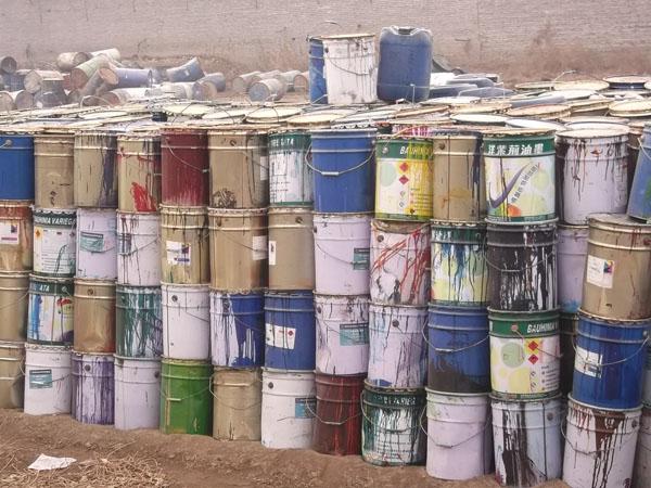 关于废旧油漆处理公告