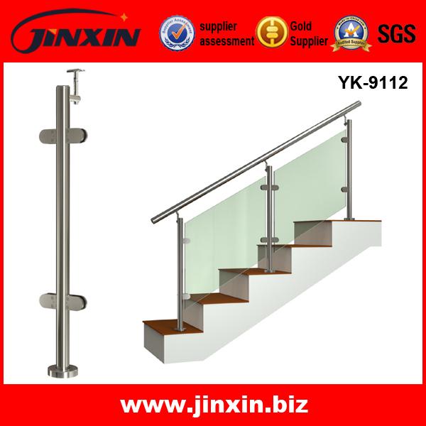 厂家大量直销 不锈钢立柱 楼梯栏杆 护栏 扶手